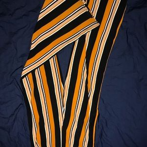 Forever 21 striped pants size small
